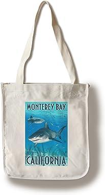 Monterey Bay, California diseño de tigre de tiburones, Multicolor, 1