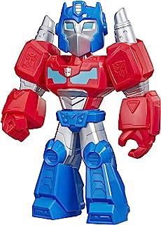 Transformers Playskool Heroes Mega Mighties Rescue Bots Academy Optimus Prime Figure 10
