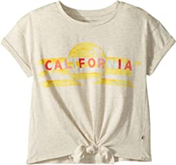 Bo Tie Front Tee (Little Kids)