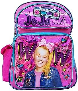 """JoJo Siwa 16"""" Large School Backpack Girl Backpack New"""
