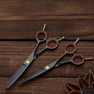 CHENyuan - Tijeras de corte en cola, doble chapado, coloridas, tijeras planas +