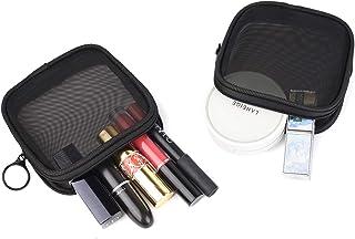 حقيبة سفر شبكية لأدوات الزينة من باتو، جيب شفاف واقف، منظم أدوات الحلاقة المحمولة، حقيبة رحلات العناية الشخصية S (2 pcs)
