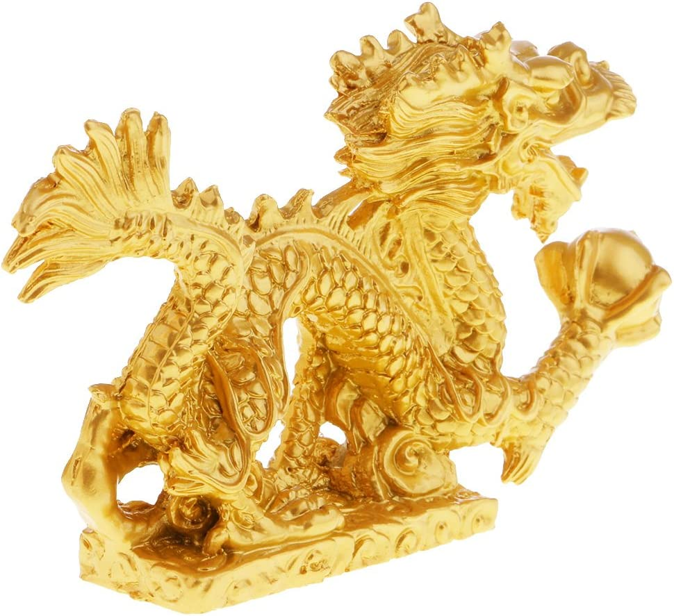 National uniform free shipping Colaxi Traditional Dragon Statue Wealth Manufacturer direct delivery Car Orna Figurine Office