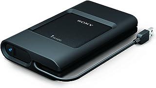 索尼 PSZ-HC1T//C 1TB 加固型外部硬盘连接 USB 3.0 数据线和 USB C 端口PSZ-HC1T//C 1TB