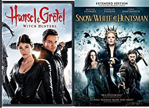 Snow White & The Huntsman + Hansel & Gretel: Witch Hunters DVD Set Amazing Fairy Tale Action Double Feature