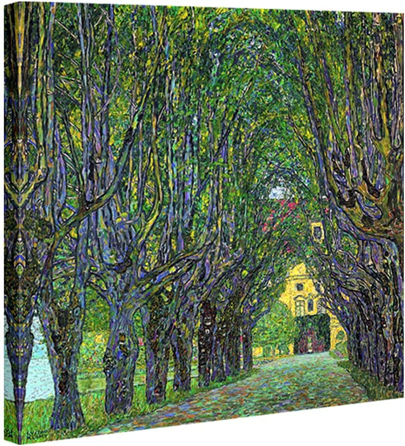 Wieco Art Limited price Avenue OFFicial site in Schloss Kammer by Fa 1912 Gustav Klimt Park