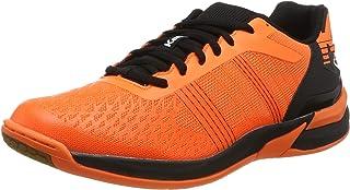 Kempa Attack Three Contender, Chaussures de Handball Homme, Orange (Orange Frais/Noir 06), 43 EU