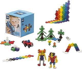 PLUS PLUS - Open Play Set - 600 Piece - Basic Color Mix, Construction Building Stem Toy, Interlocking Mini Puzzle Blocks f...