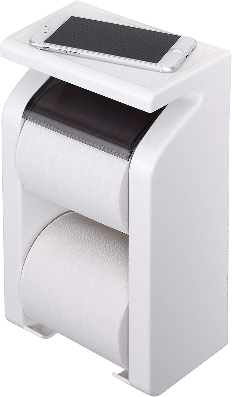 Towa industry GR shelf with paper holder white Stock (japan import)