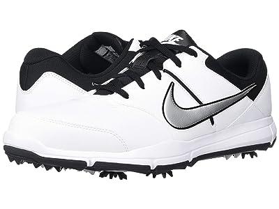 Nike Golf Durasport 4 (White/Metallic Silver/Black) Men