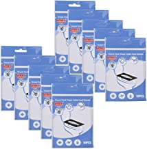 Gmark Portable Paper Toilet Seat Covers Travel Pack (100 Count) 10 Packs – Virgin..