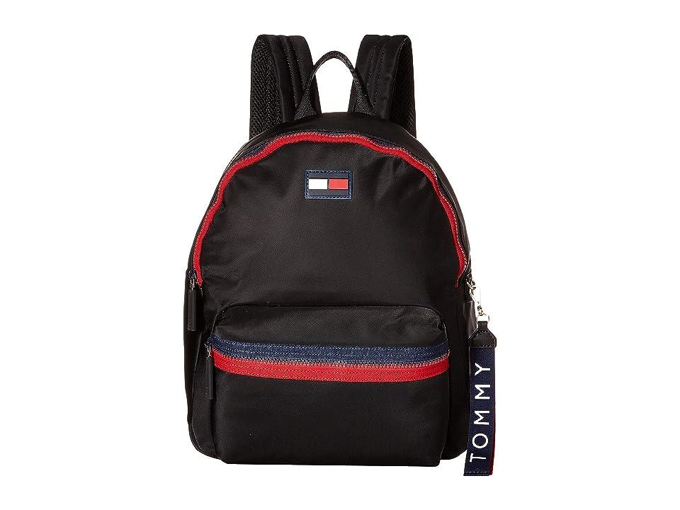 Tommy Hilfiger Leah Backpack (Black) Backpack Bags