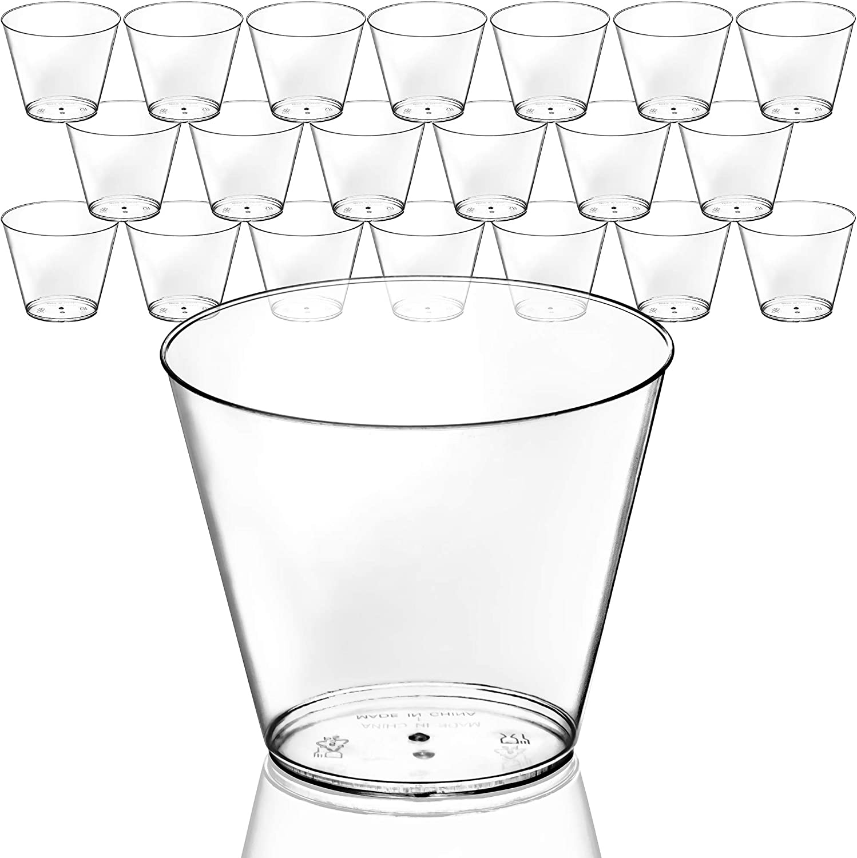 DecorRack 20 Department store Clear Shot Glasses 9 FREE -BPA oz Crystal Nashville-Davidson Mall Pl
