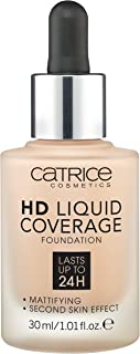 Catrice HD Liquid Coverage Foundation - 020 Rose Beige, 30 ml