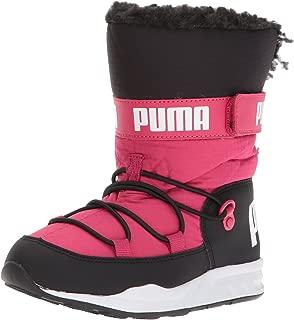 Unisex Kids Trinomic Boot Sneaker, Love Potion Black, 1 M US Little