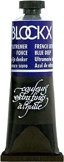 Blockx Ultramarine Blue Deep Oil Paint, 35ml Tube