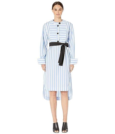 YIGAL AZROUËL Candy Monostripe Tunic Dress