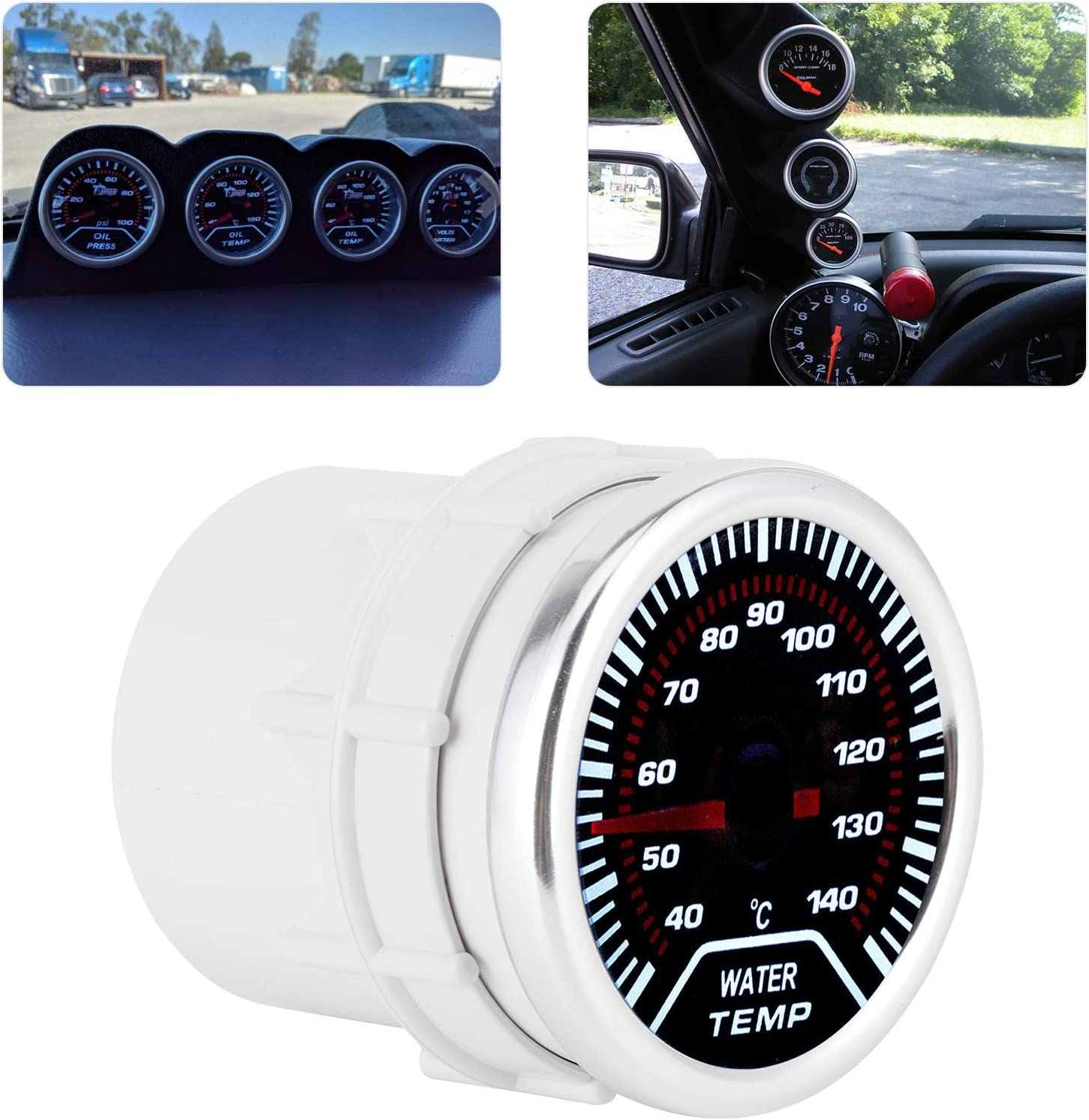 NEW Max 41% OFF before selling Water Coolant Temperature Gauge LED Kit