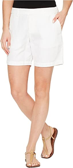 Linen Cotton Blend Walking Shorts