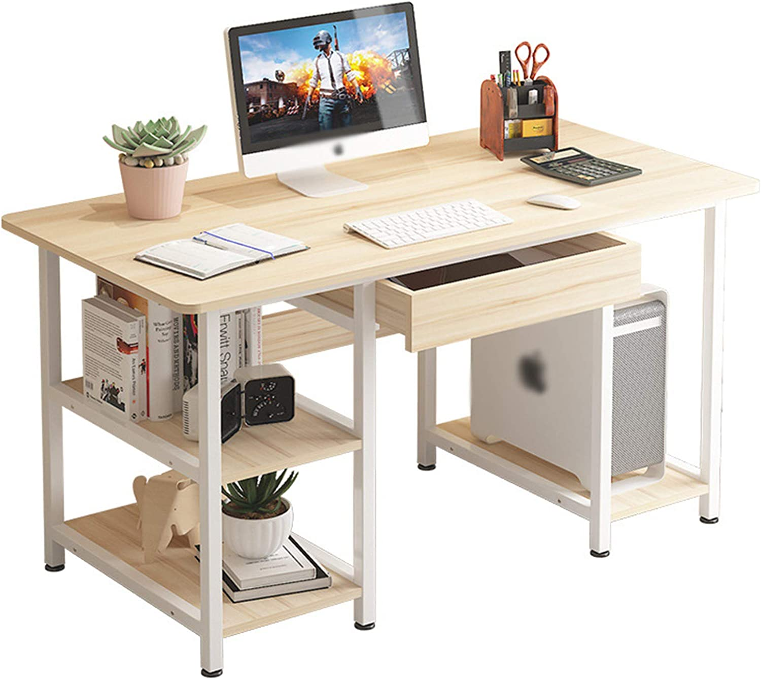 RONG HOME Small Office Desk A surprise price is realized Computer Indefinitely Style M Simple Modern