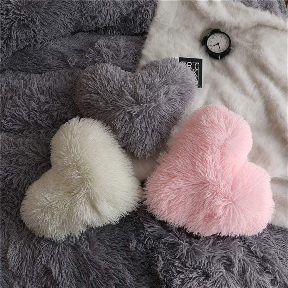 HAIHUA Fluffy Heart Pillow, Chicago Mall Insert Soft ,Super Cotton shop