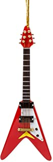 Broadway Gifts Musical Instrument Ornament - 4 Electric V Guitar