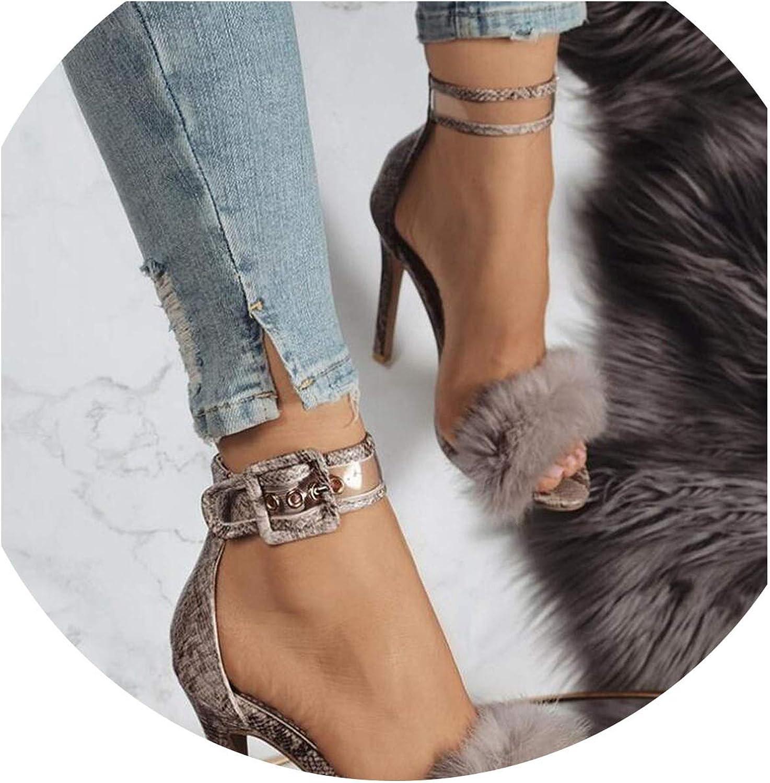 colorful Dream- Summer High Heels Women Sandals Pumps Gladiator Rome Peep Toe Party High Wedding Heels Sandals
