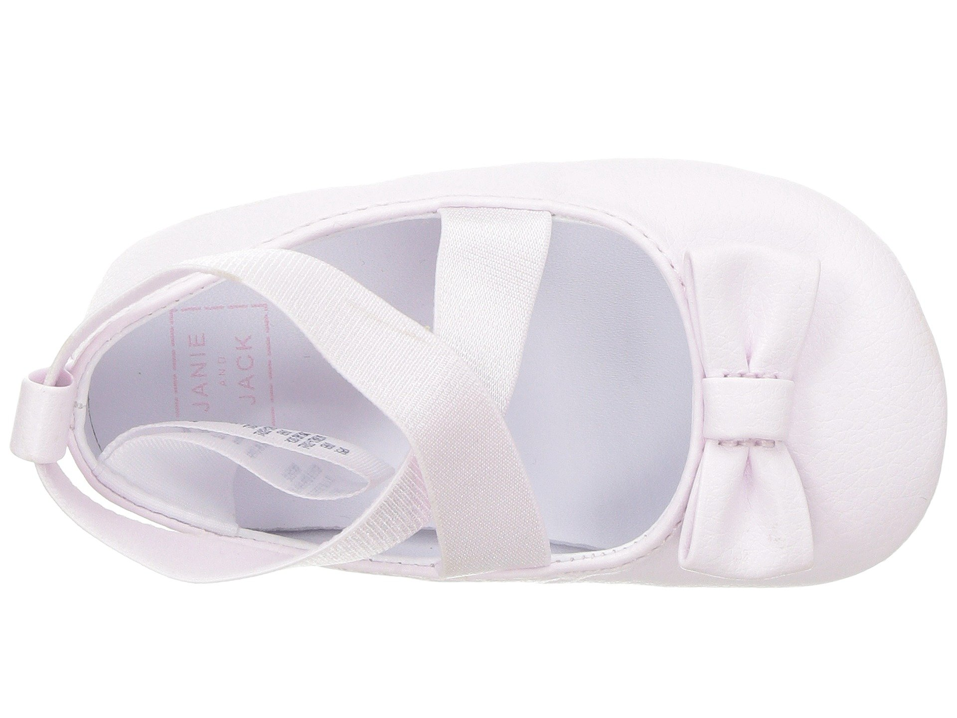 janie and jack cross strap ballet flat (infant)