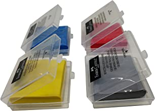 Faber-Castell knead Erasers - Drawing Art kneaded Erasers Large size - 4 Pack (Assorted Colors)