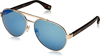Marc Jacobs Marc 341/S Dark Havana/Green/Blue Mirror One Size