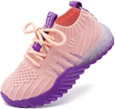 Kids Boys Girls Casual Lightweight Breathable Sport Running Shoes Athletic Sneakers (3.5Years-12Years)