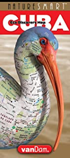 NatureSmart Cuba Map by VanDam -- Country Road & Eco Travel Map of Cuba mapping natural history, preservation & unique species - Laminated folding ... ... 2017 Edition (English and Spanish Edition)