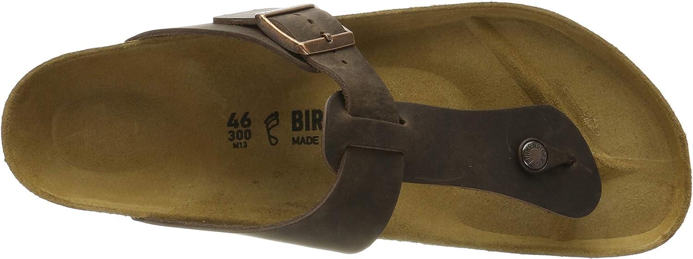 Birkenstock Herenmedina Flip Flops Braun Habana Habana