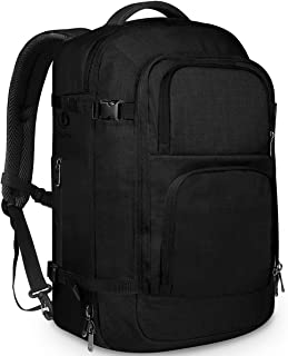 954e8587c Dinictis 40L Flight Approved Travel Backpack, Waterproof Business Carry on  Backpack fit 15.6 Inch Laptop