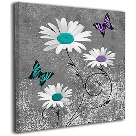LILAC BUTTERFLY FAMILY QUOTE  VERSE CANVAS PRINT WALL ART 18 X 32 INCH