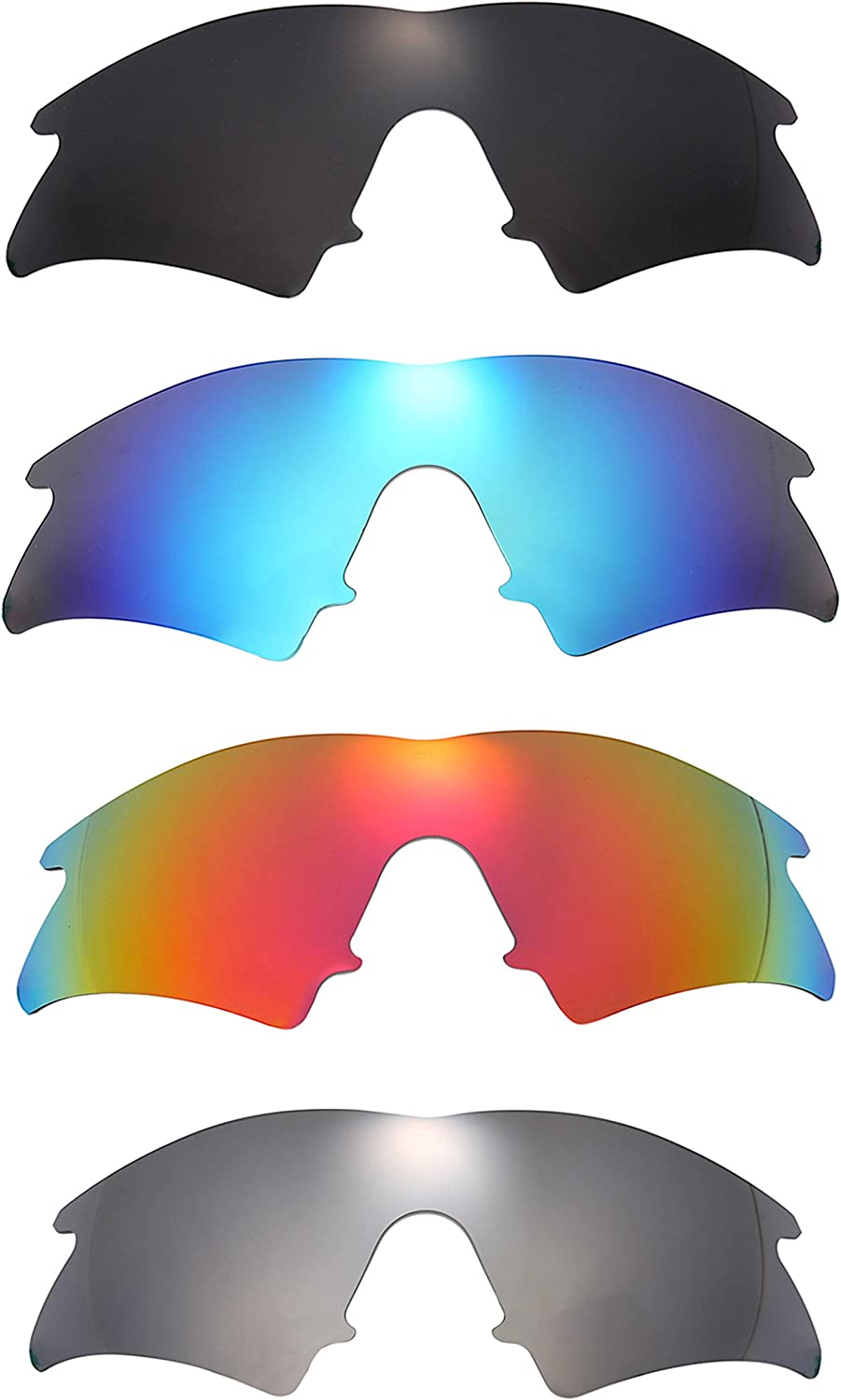 Set of 4 Polarized Replacement Lenses Bombing free shipping M S Frame Oakley for Popular brand Sweep