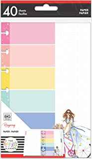 The Happy Planner Mini Filler Paper - Journaling & Planner Accessories - Enjoy The Ride Theme - Pre-Punched - Double-Sided...