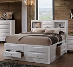 ACME Furniture Bed, Eastern King, White