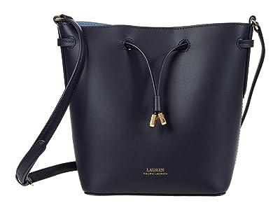 LAUREN Ralph Lauren Debby II Crossbody (Lauren Navy/Blue Mist) Handbags