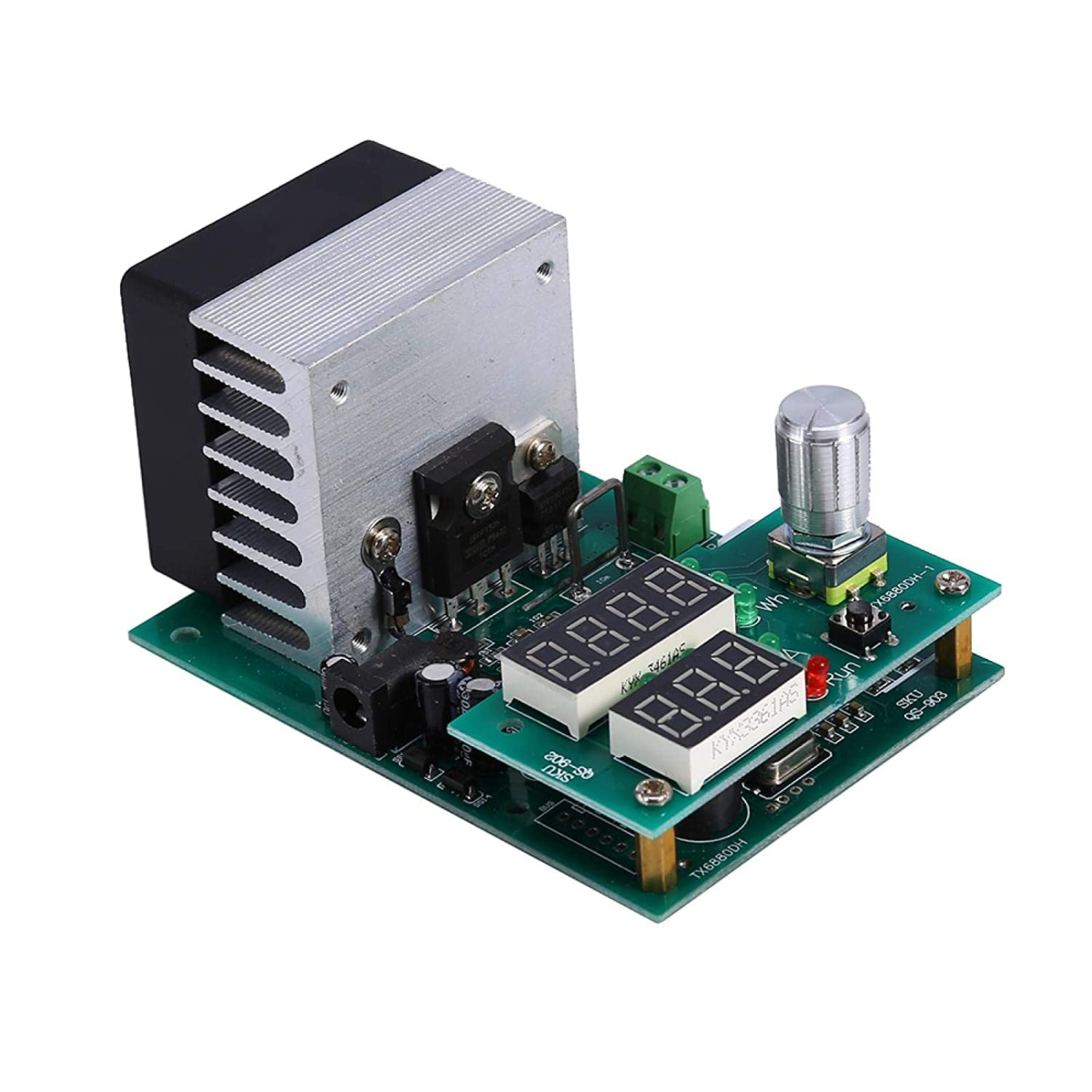 Multifunctional Module Battery Capacity Tester 9.99A 30V Constant Current Electronic Load Module Battery Capacity Tester 60W Multi-Functional