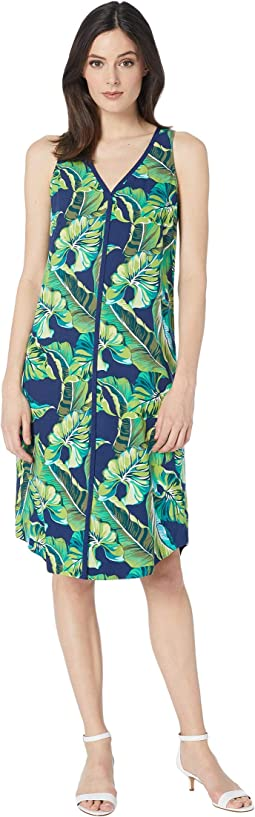 Lovely Leaves Midi Dress