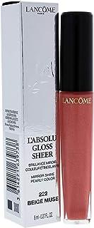 Lancome Labsolu Gloss Sheer Lip Gloss, No.222 Beige Muse, 0.27 Ounce