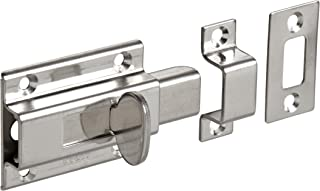 Stainless Steel 304 Slide Bolt Latch, Satin Finish, Non Locking, 1-31/32