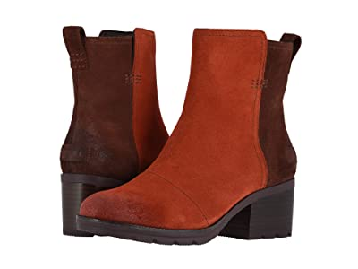SOREL Catetm Bootie (Carnelian Red) Women