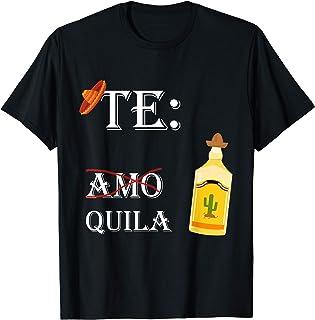 Tequila SMMBYV Teamo Tequila | lustiges Mexiko Party Geschenk Chilischote T-Shirt
