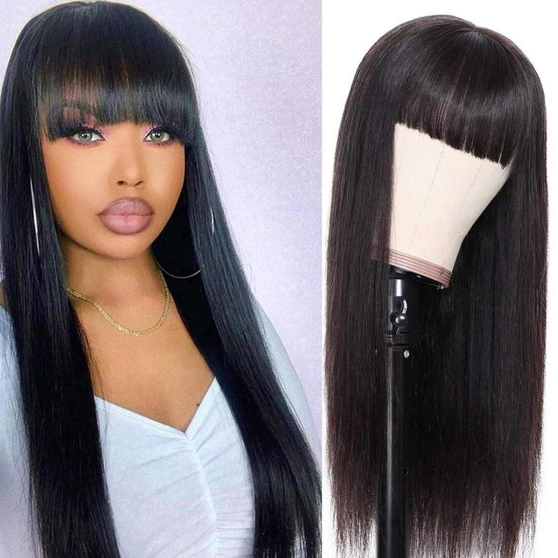 Challenge the lowest Manufacturer regenerated product price of Japan ANNELBEL Human Hair Wigs for Brazilia Black Women Straight Silky