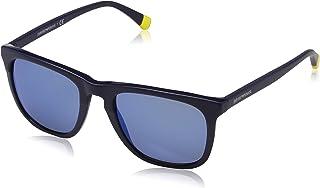 نظارات شمسية دائرية جورجيو ارماني للنساء من امبوريو ارماني - - 6069-3011U2- 56 ملم- زهري