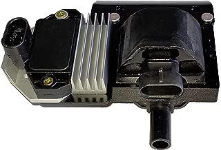 Ignition Coil with Control Module ICM for 1996-2007 Blazer C/K 1500 2500 3500 Camaro Corvette Escalade Firebird S10 Pickup Sierra Silverado Suburban Tahoe Yukon Vortec V6 4.3L V8 5.0L 5.7L 7.4L