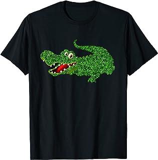 Alligator vert crocodile cadeau animaux, les filles garçons T-Shirt