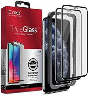 iPhone 11 Pro/iPhone Xs 5.8-inch,Screen Protector (2 packs) Full Coverage Tempered Glass/Tray Installation (Case Friendly)...